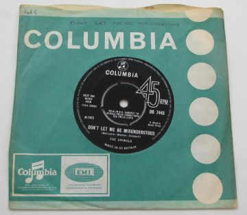 "Animals (The) DONT LET ME BE MISUNDERSTOOD 1965 UK 7""  EX AUDIO (14)"